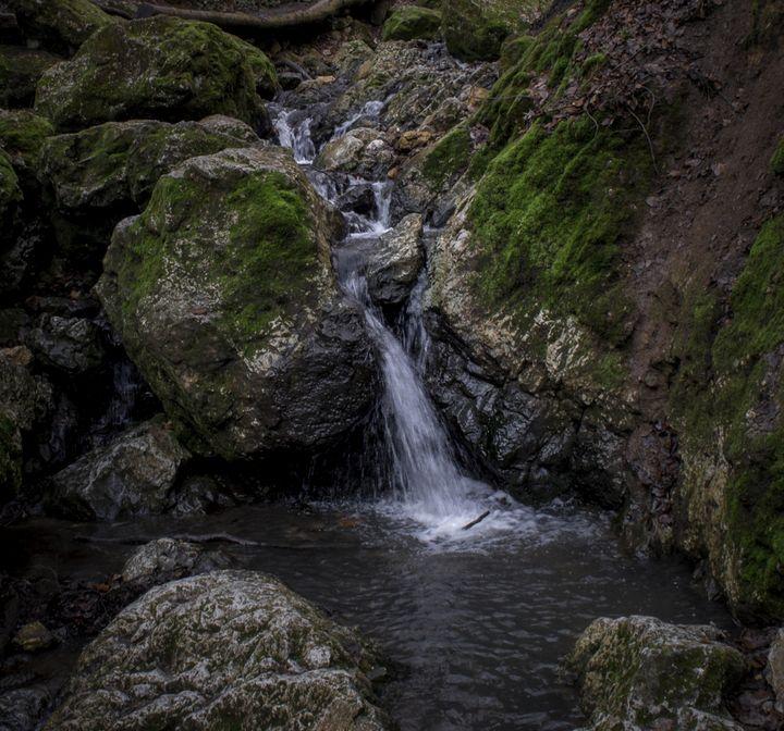 Rocky Waterfalls - D. van Doorn