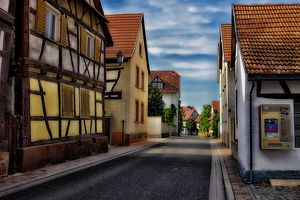 Jockgrim Old Town Germany