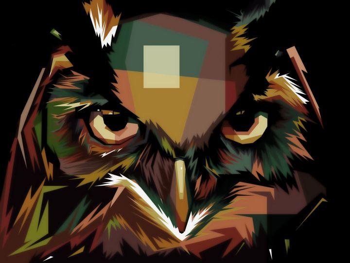 Owl Art - D. van Doorn