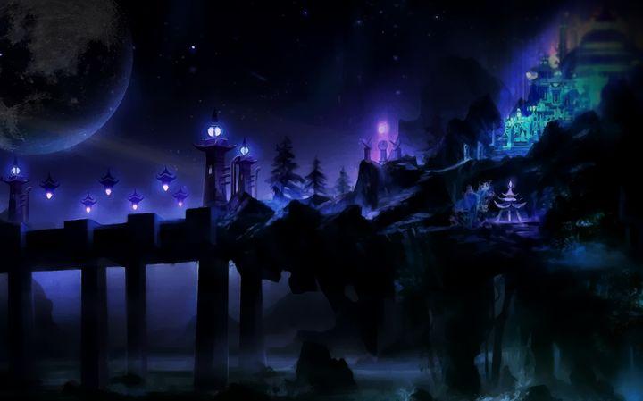 Fantasy Scene - D. van Doorn