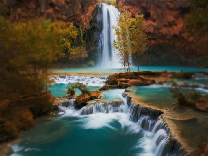 Havasu Fall Arizona - D. van Doorn