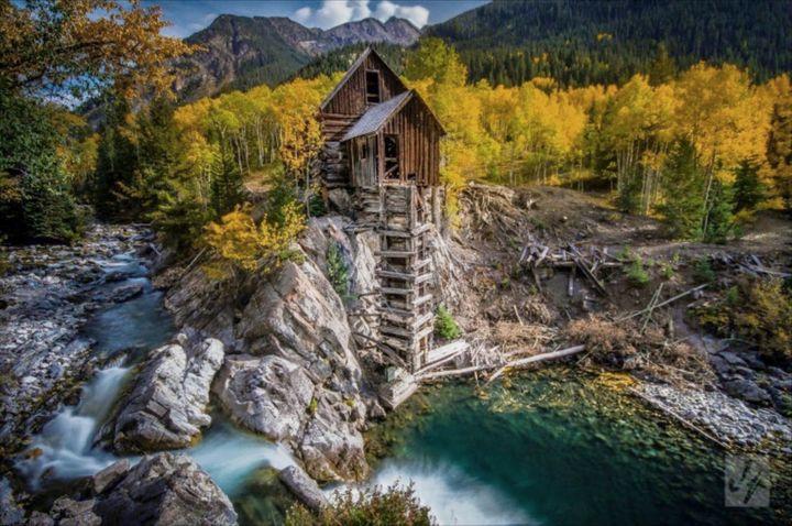 Crystal Mill Colorado - D. van Doorn