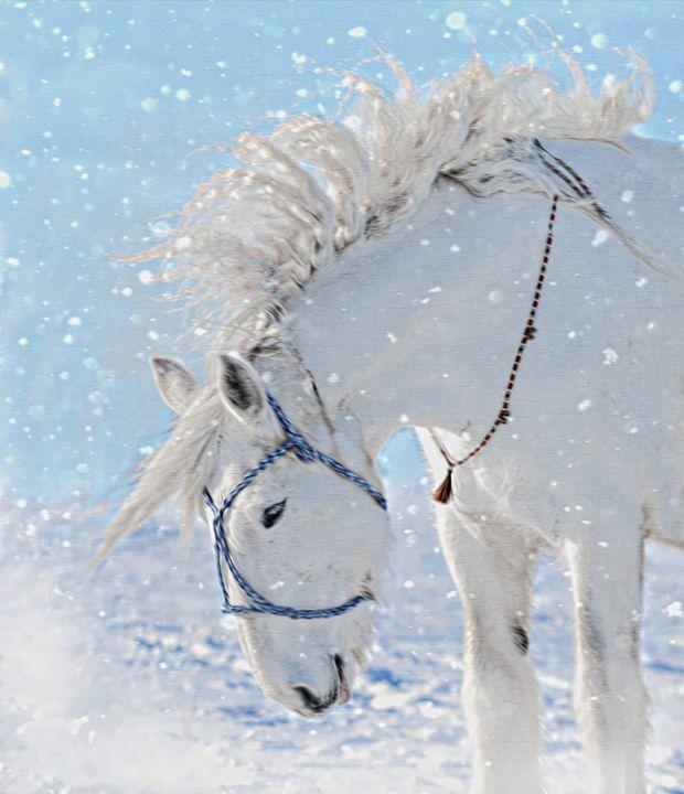 Snow Horse - D. van Doorn