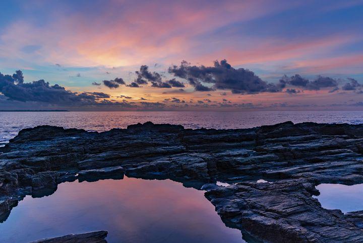 Reflective Sunset - D. van Doorn