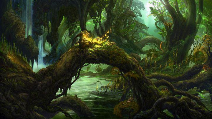 Dense Swamp - D. van Doorn