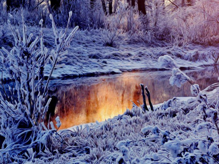 Winter Sunrise - D. van Doorn
