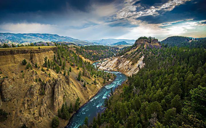Yellowstone - D. van Doorn