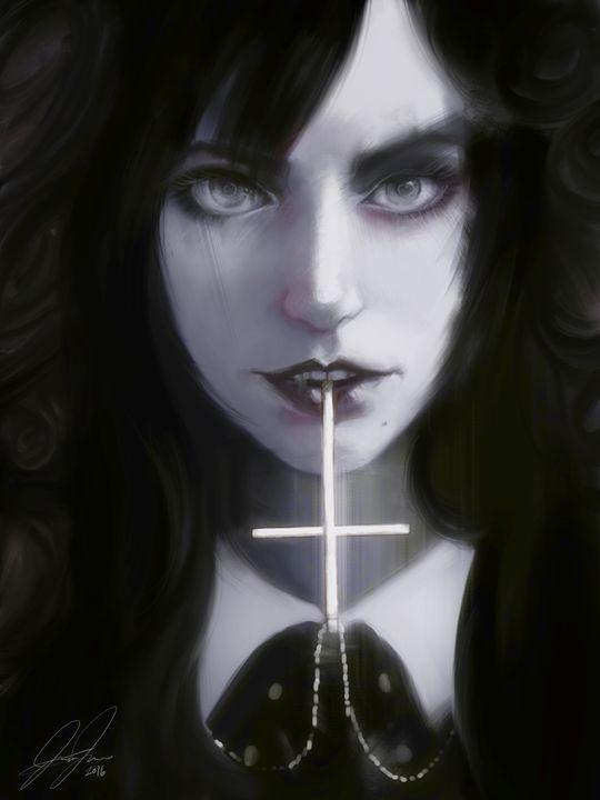 The Priest's Daughter - Jesse Johnson's Art