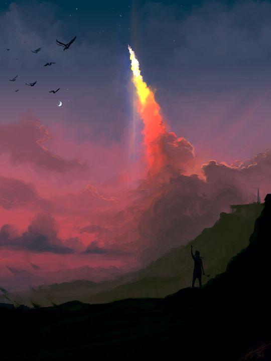 Leaving Heaven - Jesse Johnson's Art