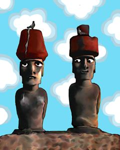 Easter Island Lovers