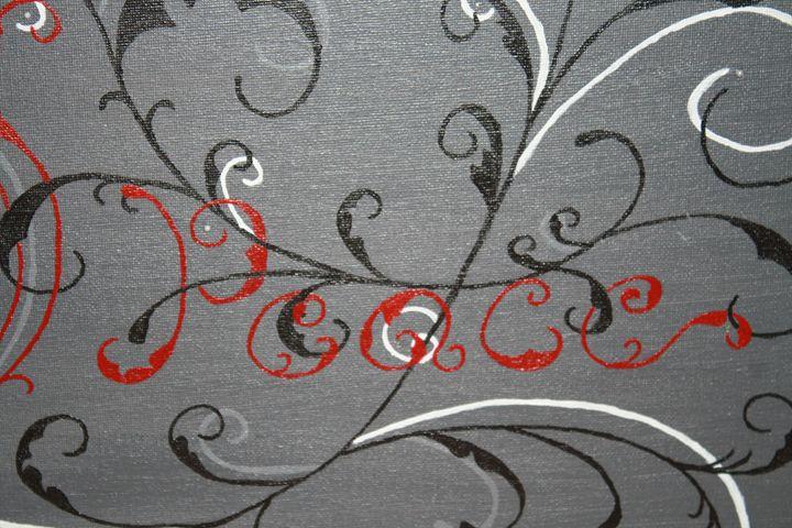 Peace and Love - Sticky Nikki's Art!
