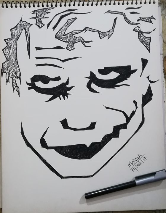 Joker #doodle - Moizah's art