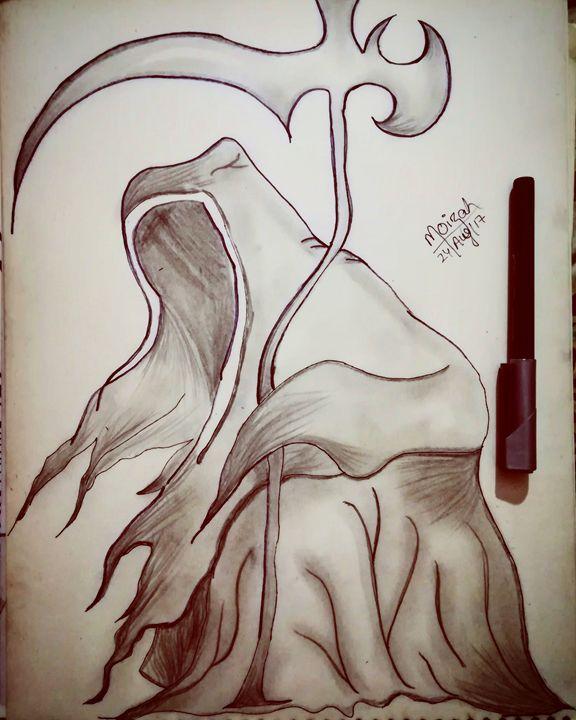 Grim reaper #doodle - Moizah's art