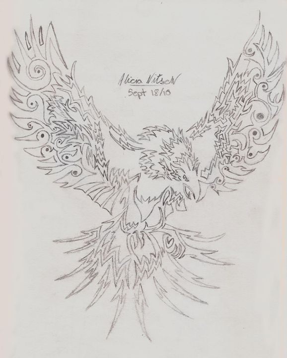 Tribal Eagle Design - A Little Bit Of Everything