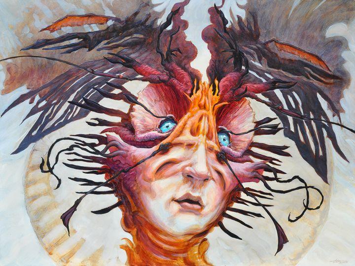 The Perplexing Murmur - Ethan Harris Art