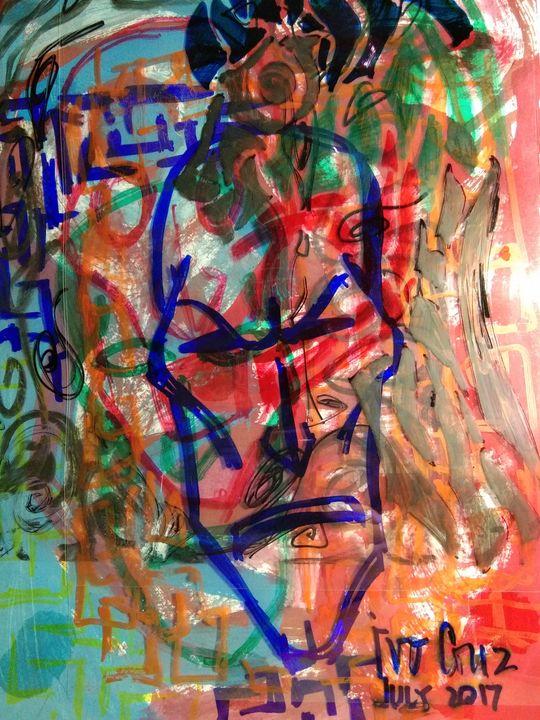 Colored Faces - Chaos - Ivo Cruz