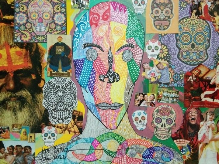Colored Faces - Images and Muertes - Ivo Cruz