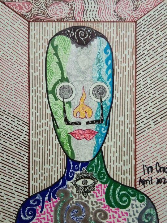 Colored Faces 7 - Ivo Cruz