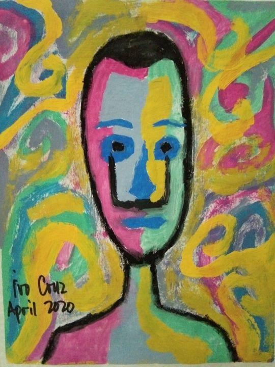 Colored Faces 6 - Ivo Cruz