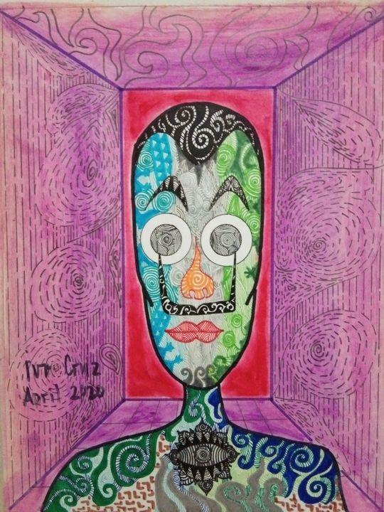 Colored Faces - Dali - Ivo Cruz