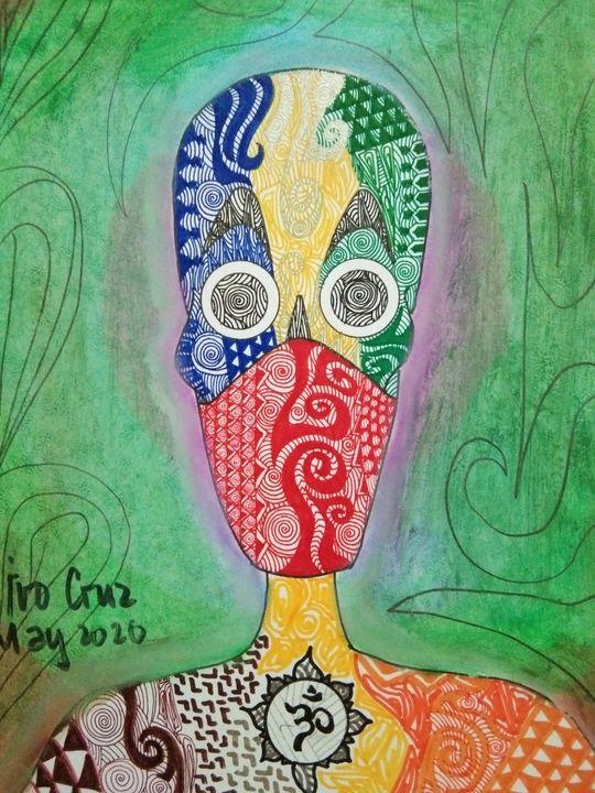 Colored Faces - New Norm - Ivo Cruz