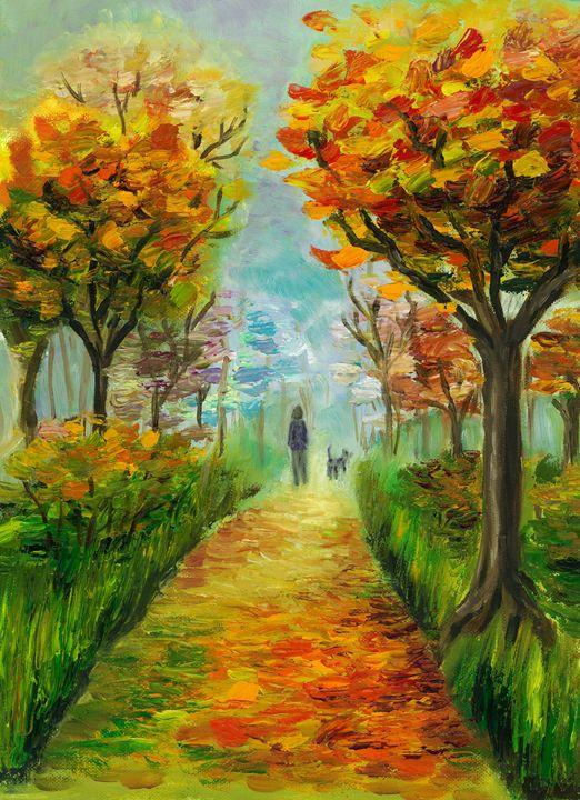 Autumn Walk - Slavena Raleva