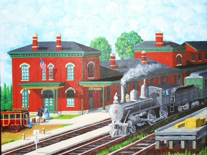 Jackson MI Station - Dan Bader