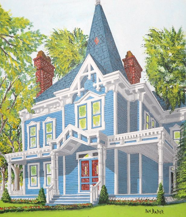 Blue Victorian - Dan Bader