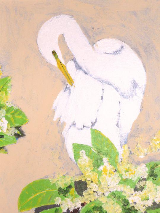 Snowy Egret - Dan Bader