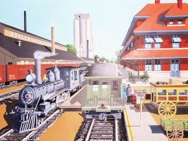 GB&W Station 1910 - Dan Bader