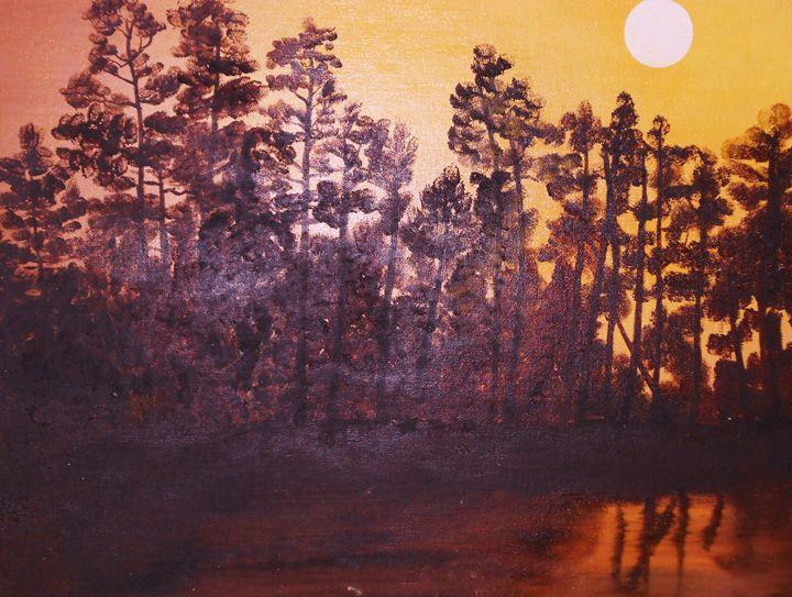 Lake Sunset - Dan Bader