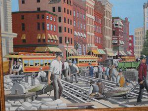 Building NY Trolley Tracks