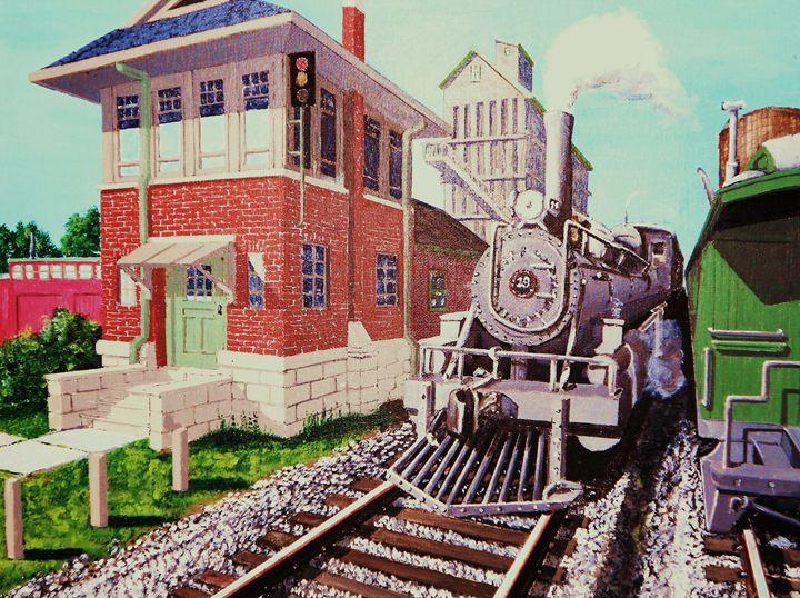 Passing Trains - Dan Bader