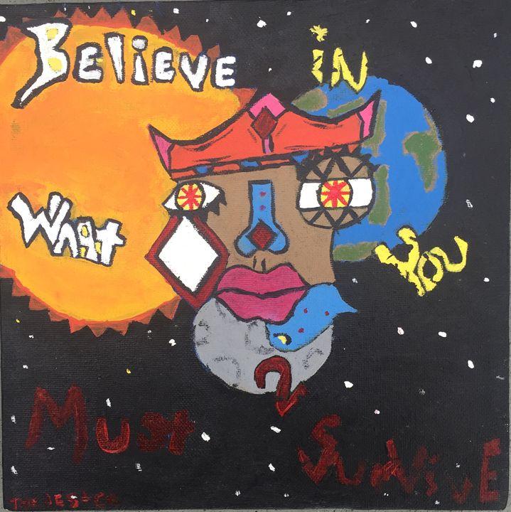Believe - Art By Eddie P