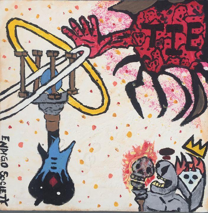 T.I.E. - Art By Eddie P