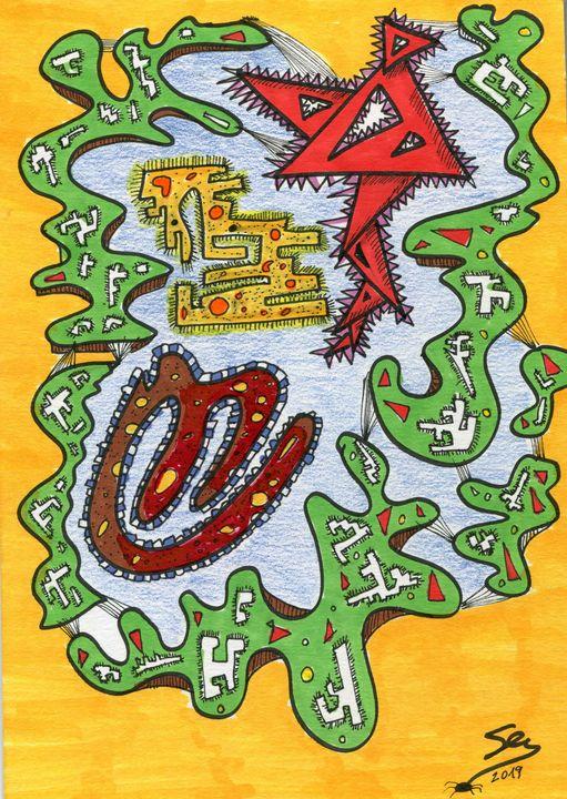 "Ecosystem - Sergio Lopez ""Humming Man"""