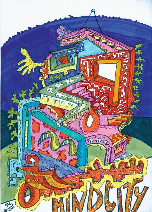 "Mind City - Sergio Lopez ""Humming Man"""