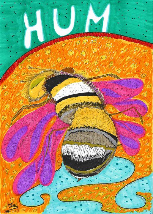 "The Humming Bee - Sergio Lopez ""Humming Man"""