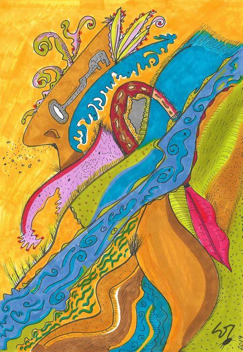 """River flow - Sergio Lopez """"Humming Man"""""""