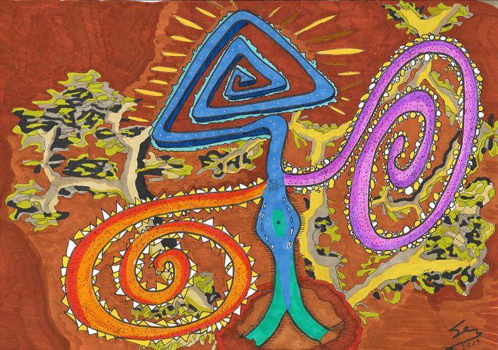 "Love Labyrinth - Sergio Lopez ""Humming Man"""