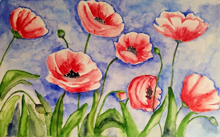 poppies - Mahjabin