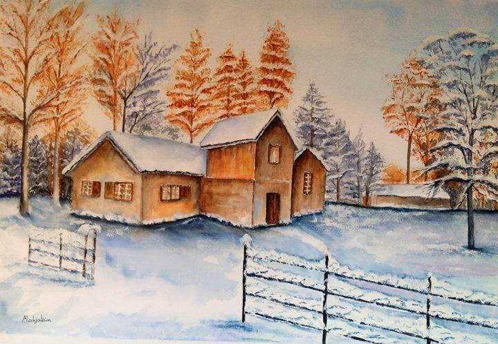 Winter snow - Mahjabin