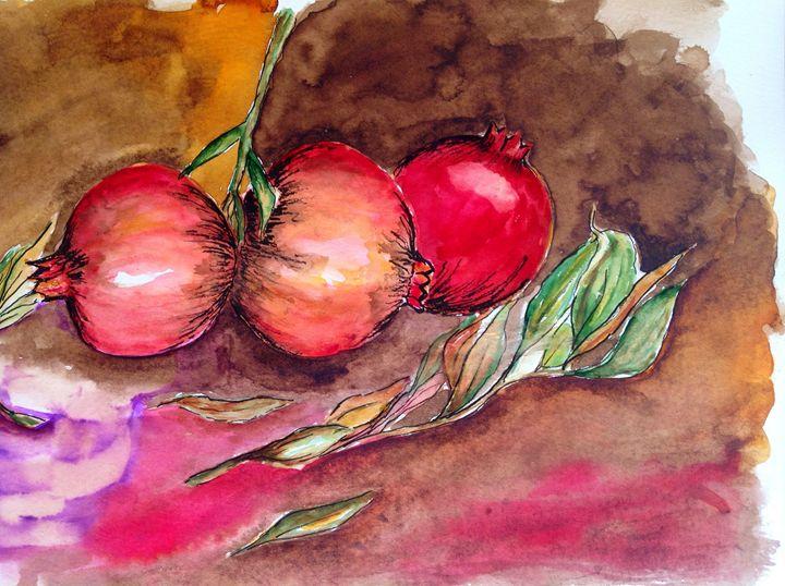 pomegranates - Mahjabin