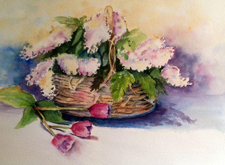 Lilac bouquete - Mahjabin