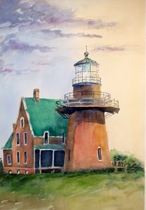 Lighthouse Block Island,Rhode Island - Mahjabin
