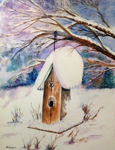 Winter Birdhouse - Mahjabin