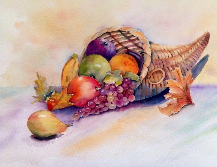 Still life-cornucopia - Mahjabin