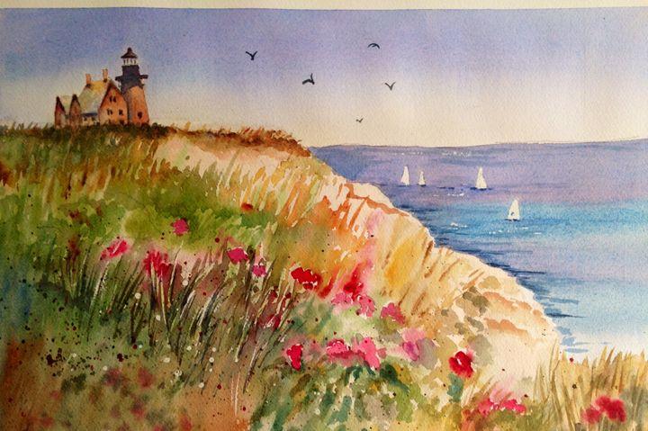 Lighthouse Block Island,Rhode Island - Mahjabin