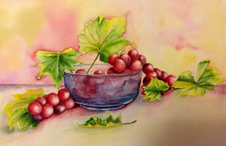 Juicy grapes - Mahjabin