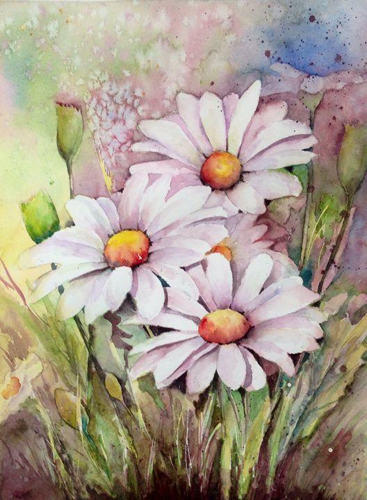White daisies - Mahjabin